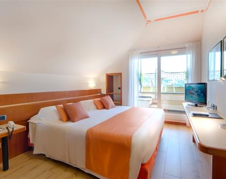Discover the comfortable rooms at the Best Western Hotel Regina Elena in Santa Margherita Ligure