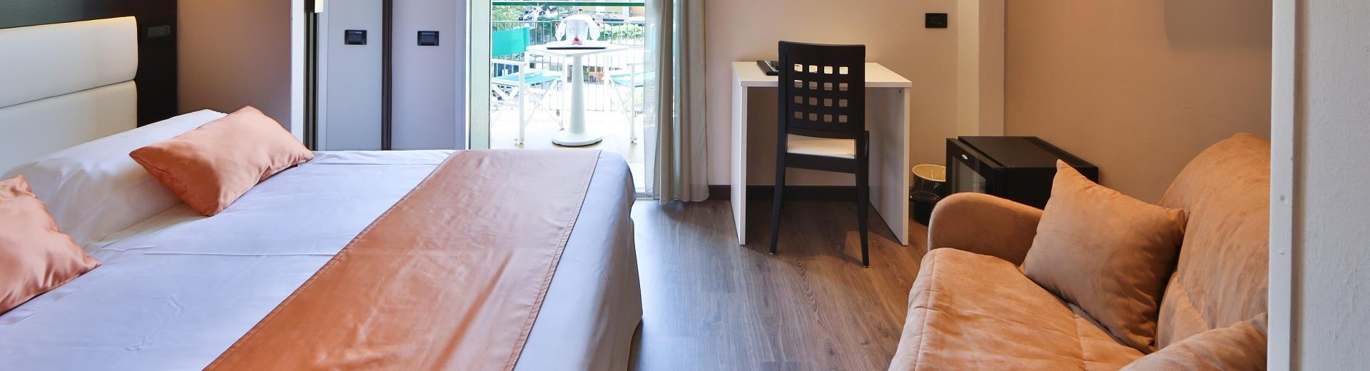 Check out the garden view rooms at our hotel in Santa Margherita Ligure