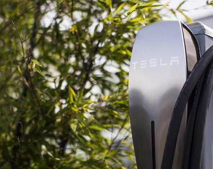 Recharge your Tesla car in a short time through a connector for charging available also in our 4 stars hotel in Portofino.
