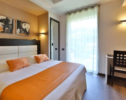 Spacious and bright rooms at Best Western Hotel Regina Elena