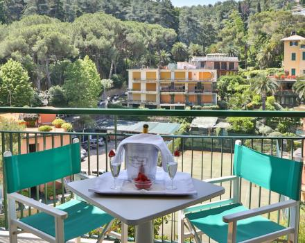 The monte di Portofino and its colors